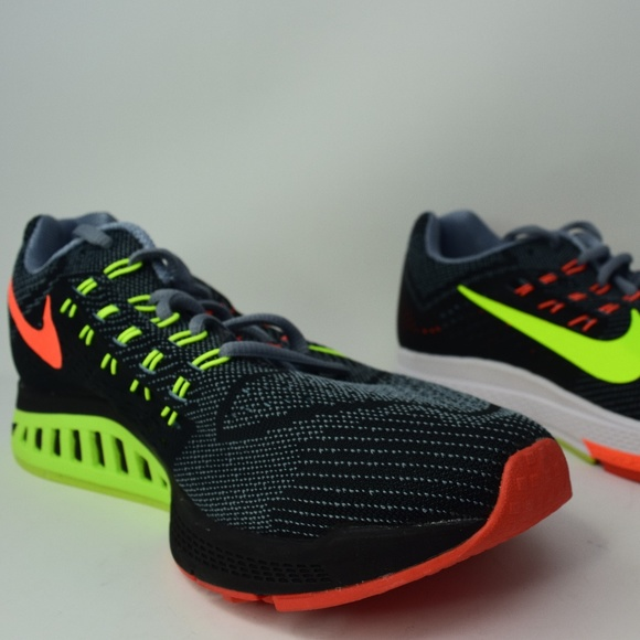 promo code 4a357 6be01 Nike Air Zoom Structure 18 Grey Yellow 683734-001